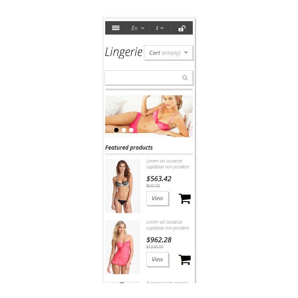 theme - Mode & Chaussures - Trendy Lingerie - 10