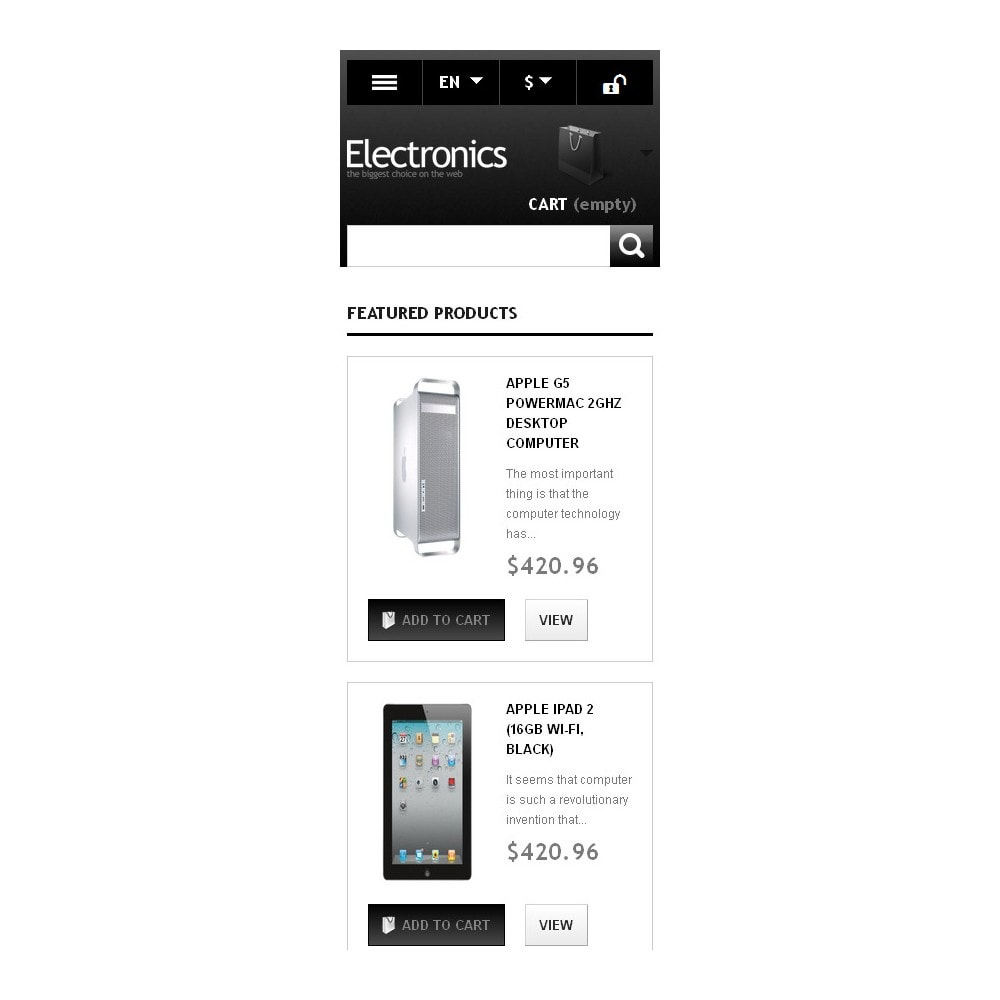 theme - Eletrônicos & High Tech - Powerful Electronics Store - 10