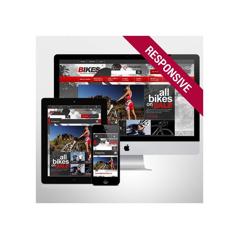 theme - Sports, Activities & Travel - Responsive Bikes Store - 1