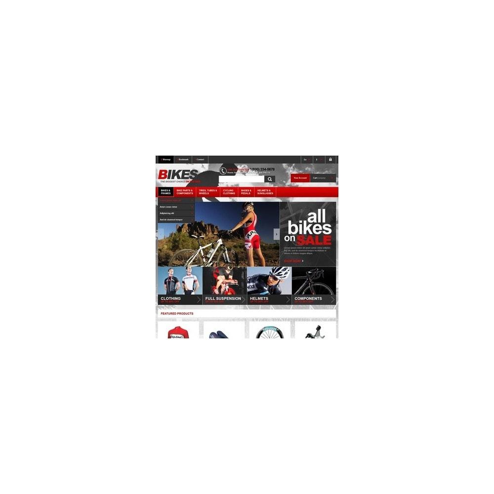 theme - Sport, Loisirs & Voyage - Responsive Bikes Store - 3