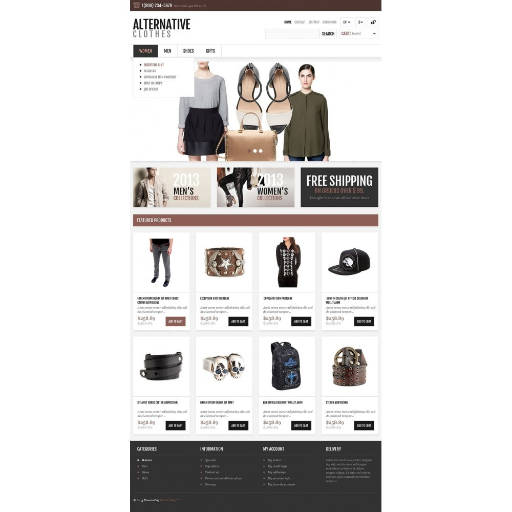 theme - Mode & Schuhe - Alternative Apparel Store - 2