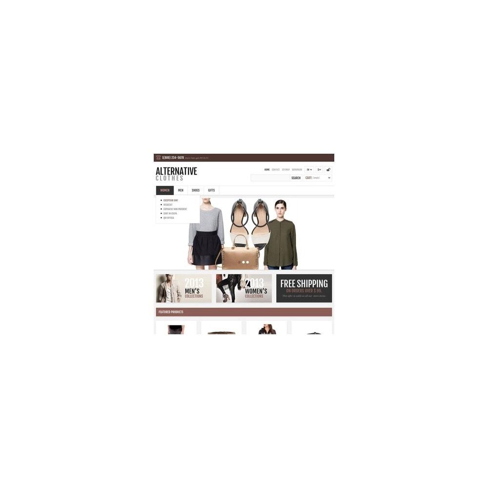 theme - Mode & Chaussures - Magasin adaptatif de vêtements alternatifs - 3