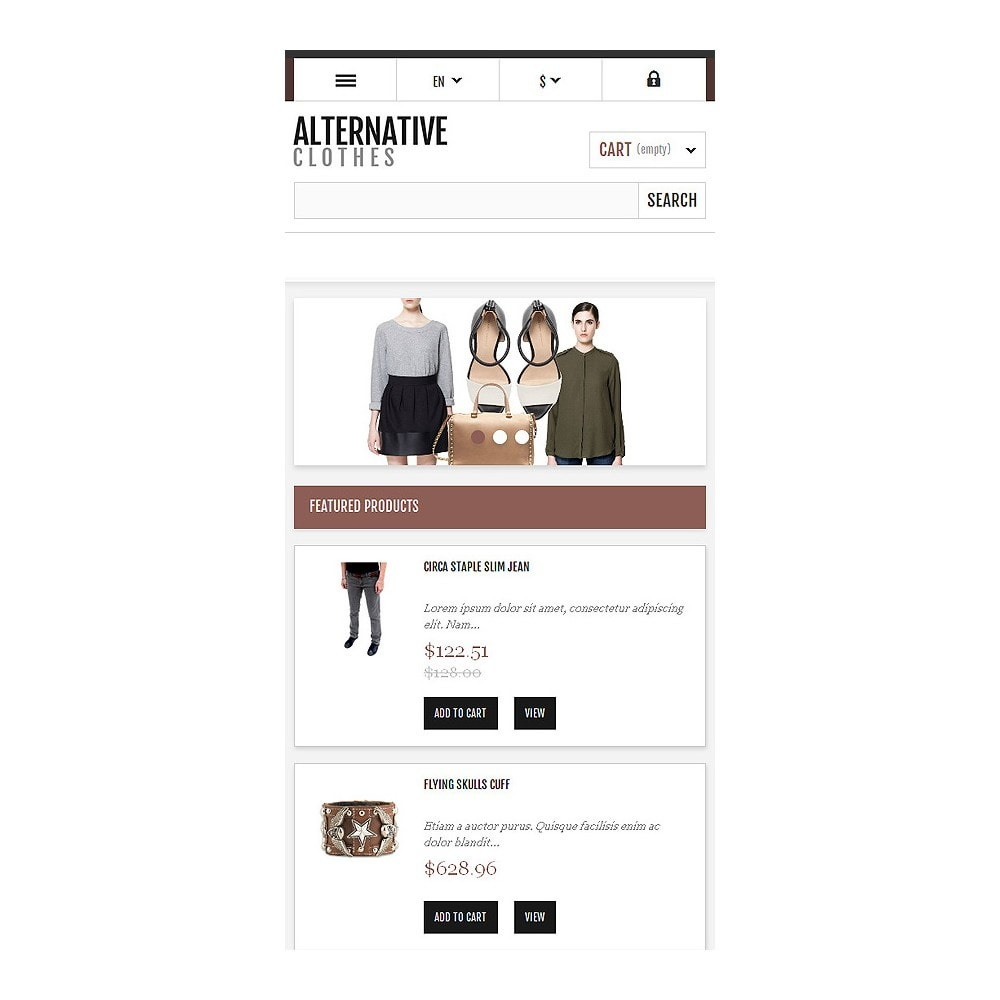 theme - Mode & Schuhe - Alternative Apparel Store - 9