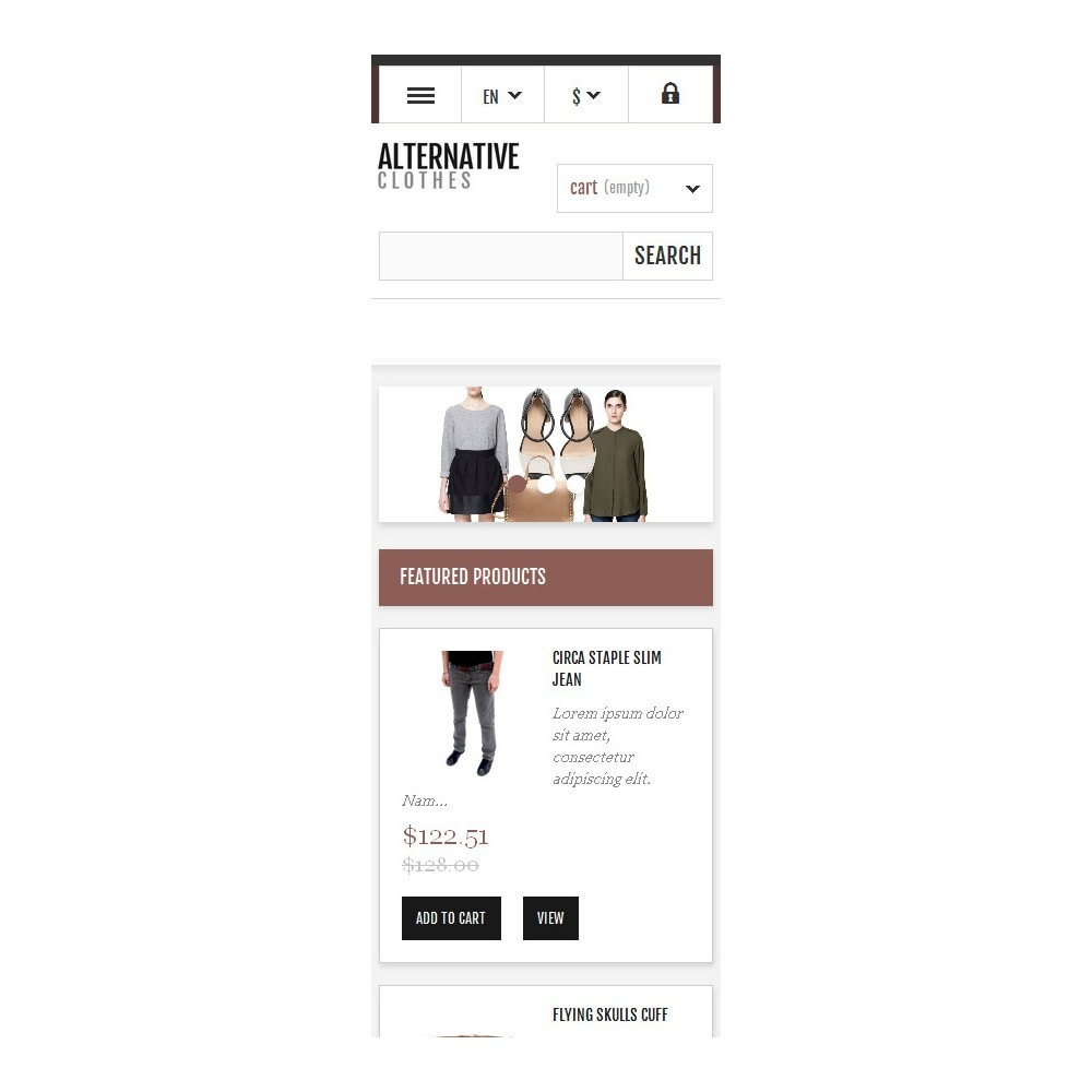 theme - Mode & Schuhe - Alternative Apparel Store - 10