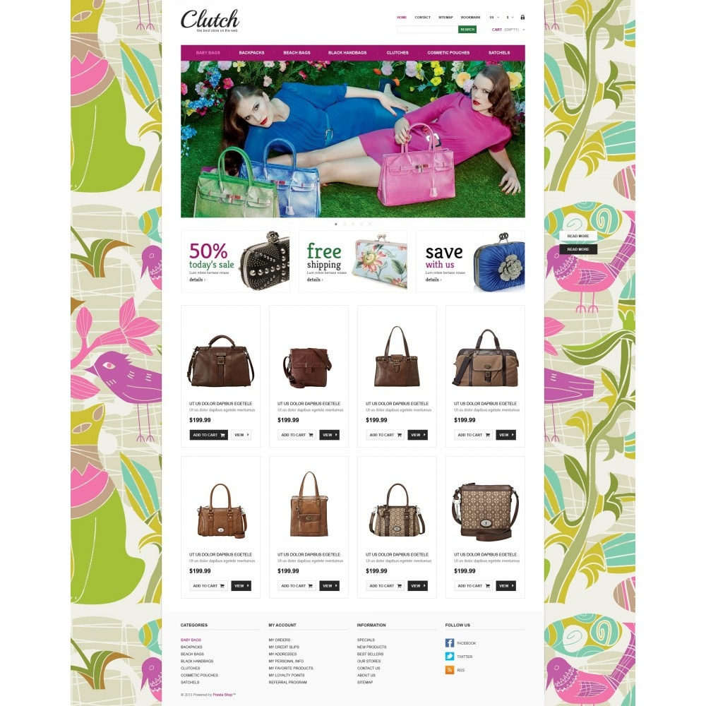 theme - Fashion & Shoes - Responsive Bags Store - 5