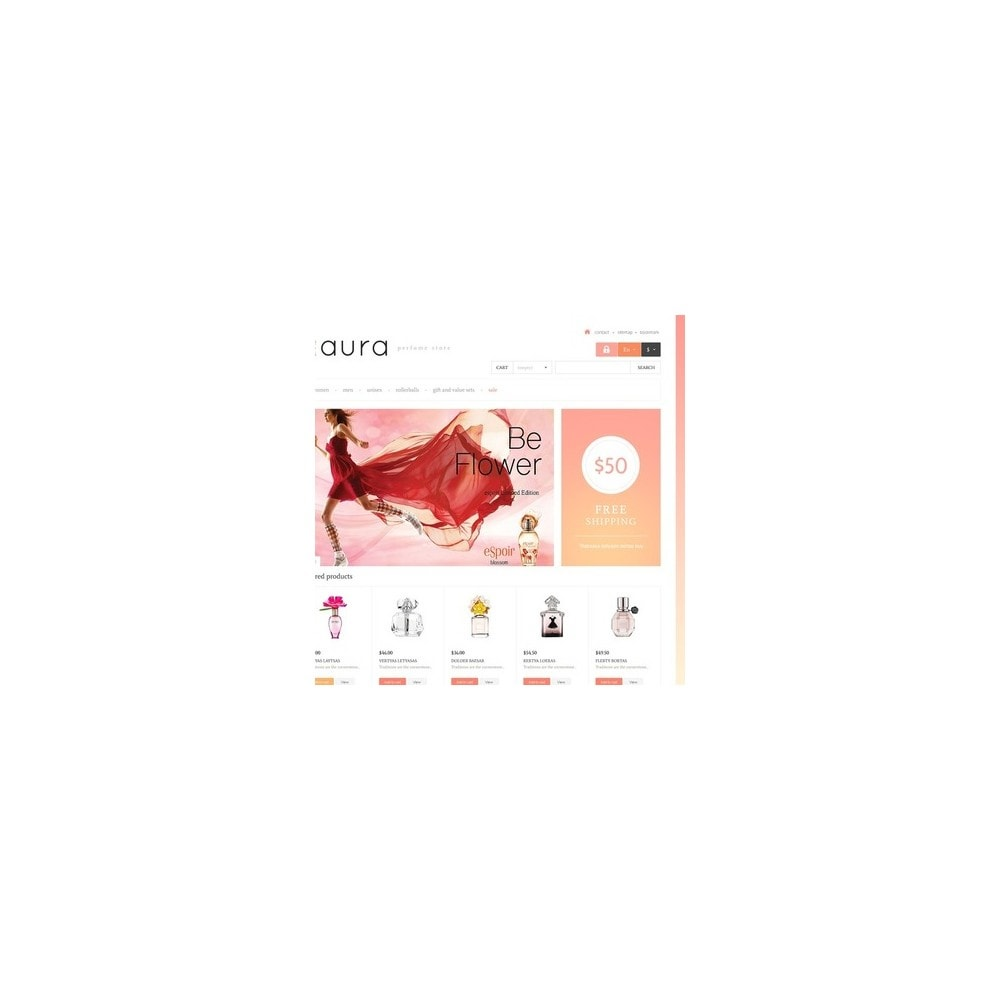 theme - Fashion & Shoes - Responsive Perfumes Store - 2