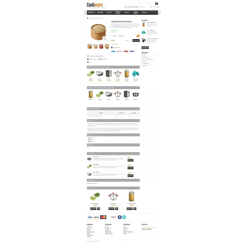 theme - Искусство и Культура - Responsive Cookware Shop - 7
