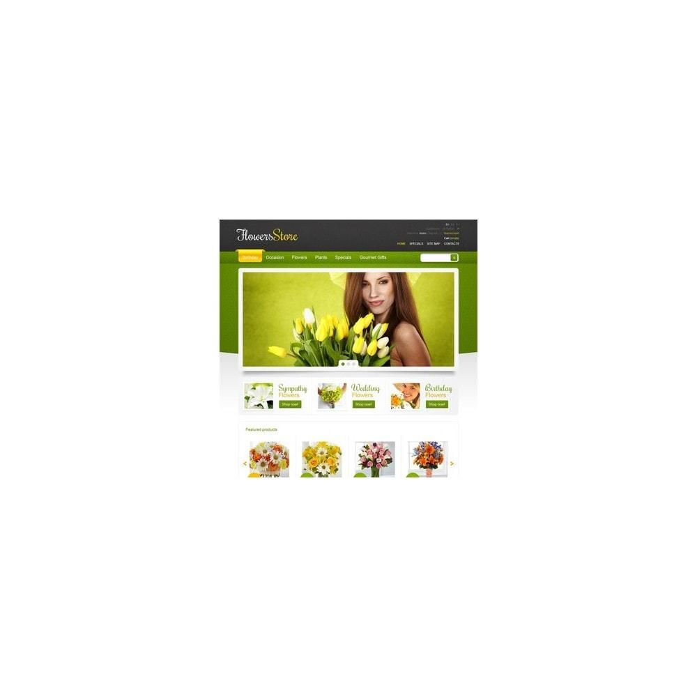 theme - Подарки, Цветы и праздничные товары - Responsive Flowers Store - 3
