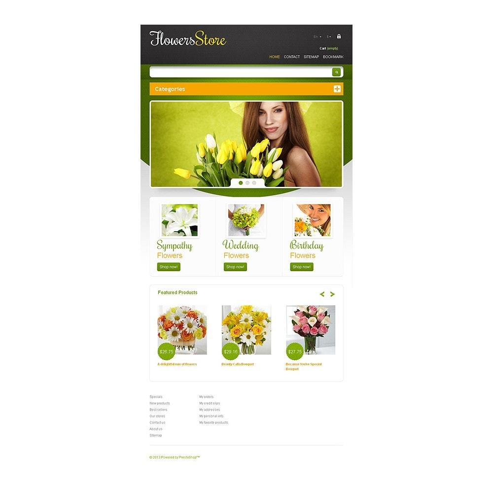 theme - Подарки, Цветы и праздничные товары - Responsive Flowers Store - 8
