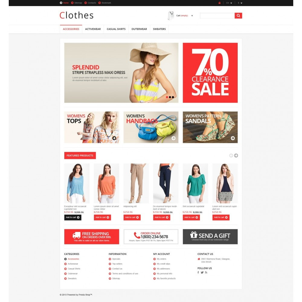 theme - Mode & Schoenen - Responsive Clothing Store - 5