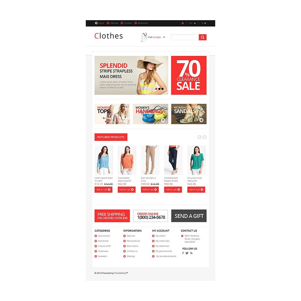 theme - Mode & Schuhe - Responsive Clothing Store - 8