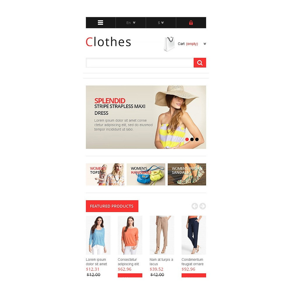 theme - Fashion & Shoes - Responsive Clothing Store - 9