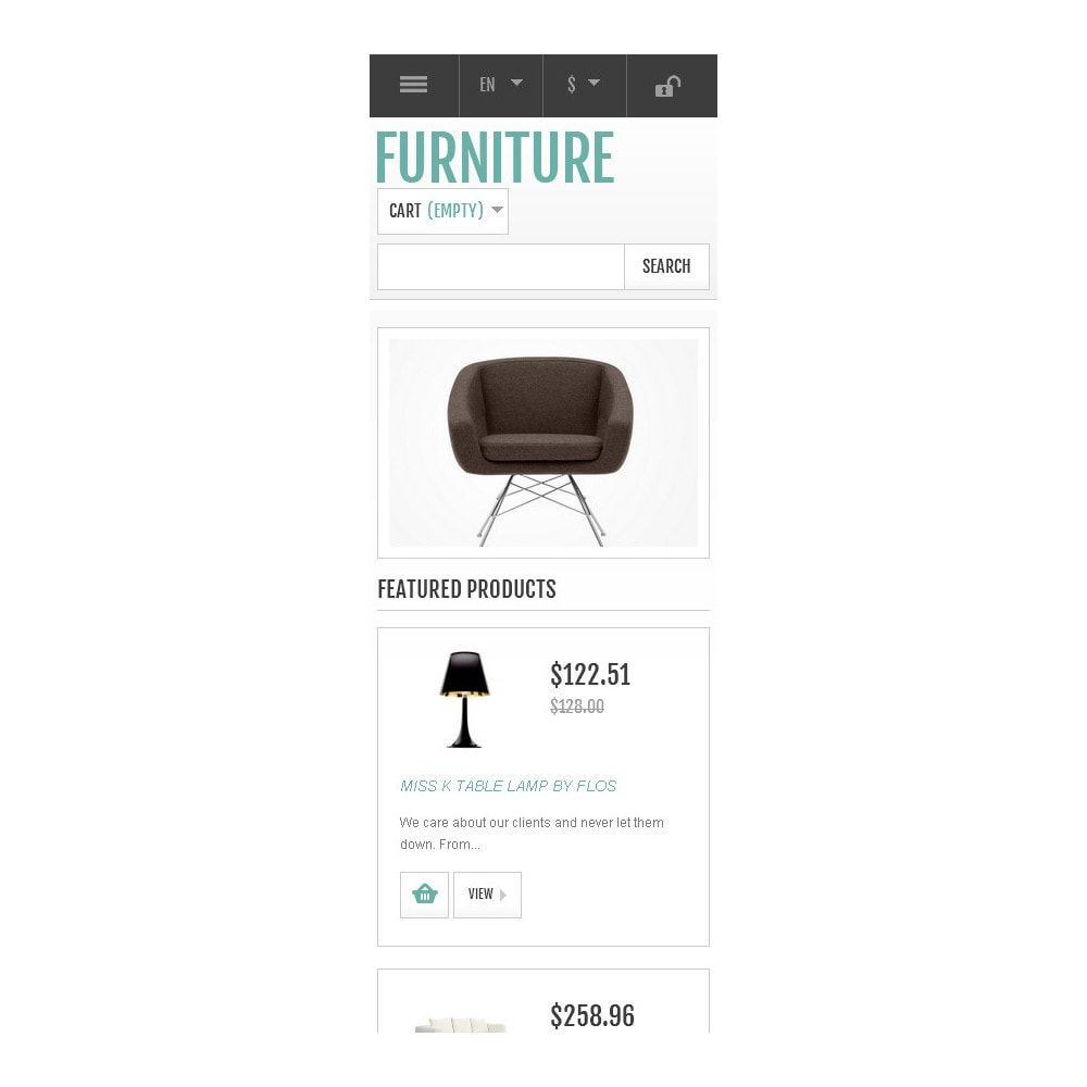 theme - Art & Culture - Responsive Furniture Store - 10