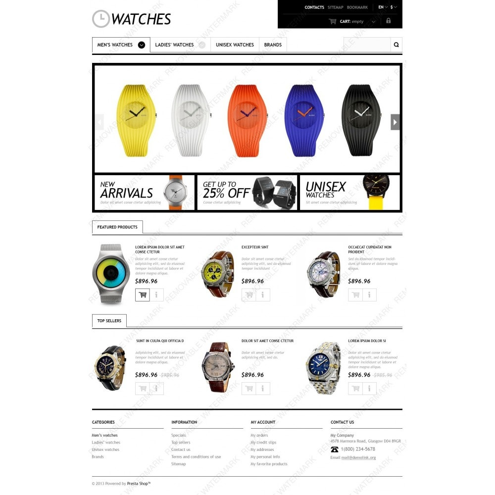 theme - Moda & Calçados - Responsive Watches Store - 4