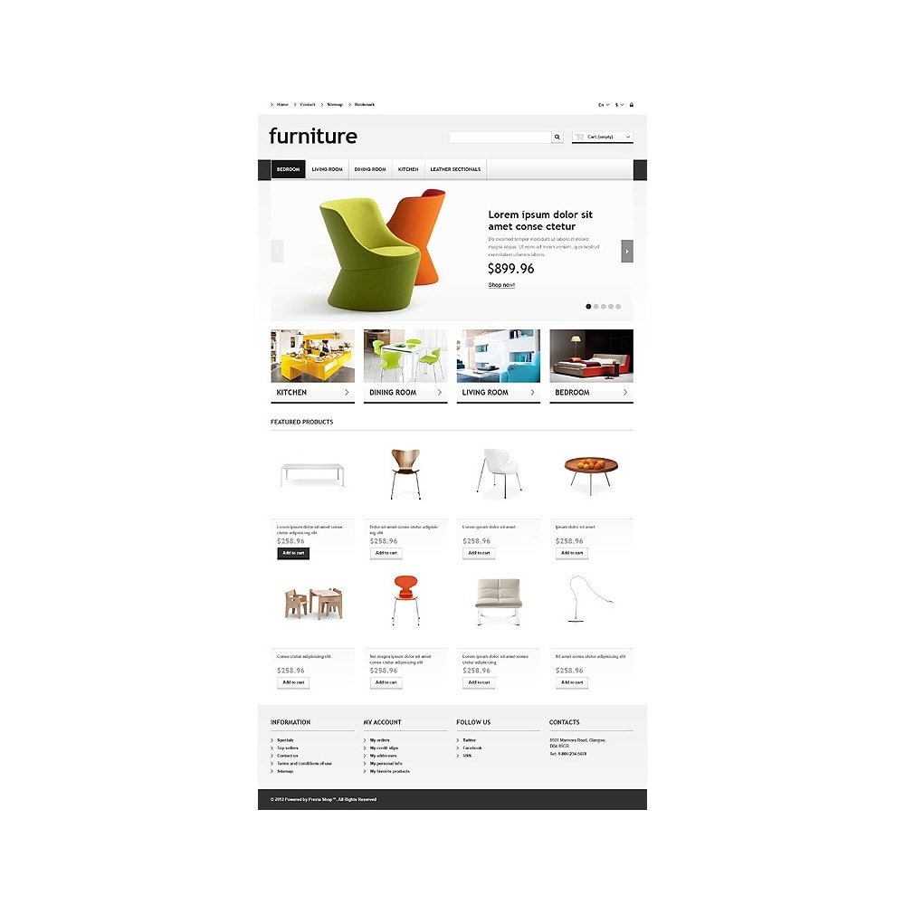theme - Kunst & Kultur - Responsive Furniture Store - 11