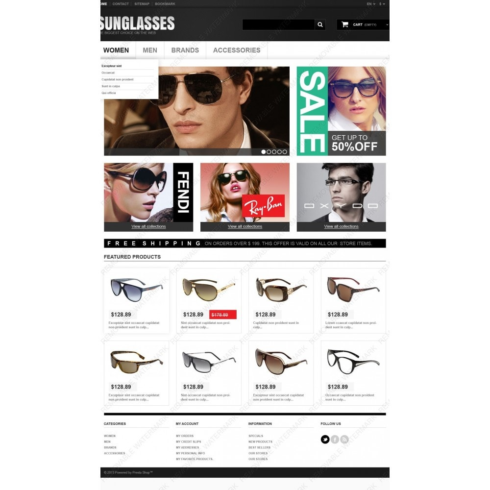 theme - Moda y Calzado - Sunglasses Boutique - 4