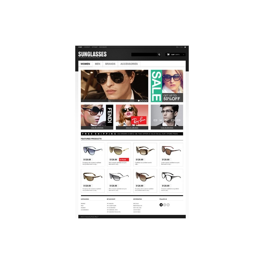 theme - Moda & Calzature - Sunglasses Boutique - 11