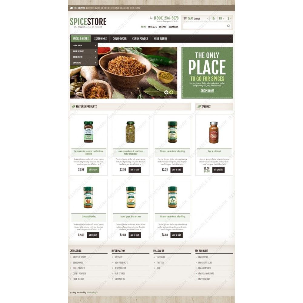 theme - Cibo & Ristorazione - Responsive Spice Store - 4