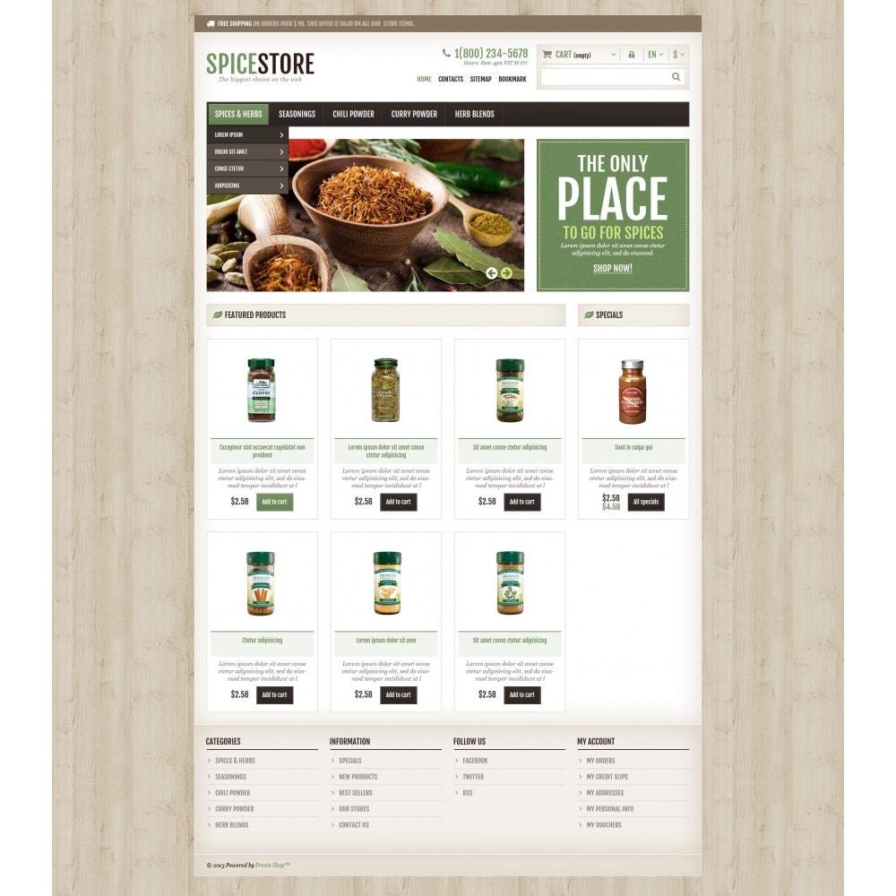 theme - Gastronomía y Restauración - Responsive Spice Store - 5