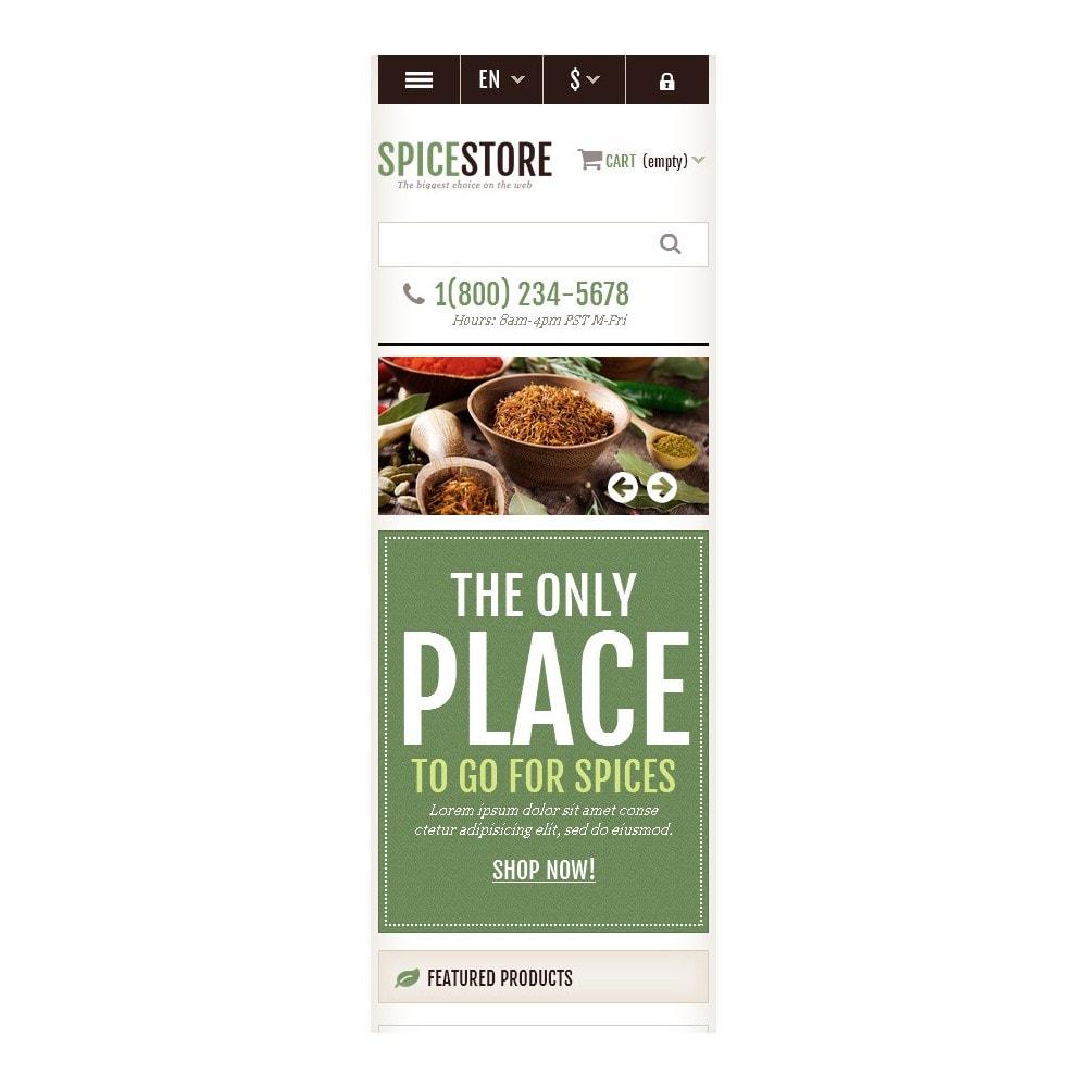 theme - Gastronomía y Restauración - Responsive Spice Store - 10