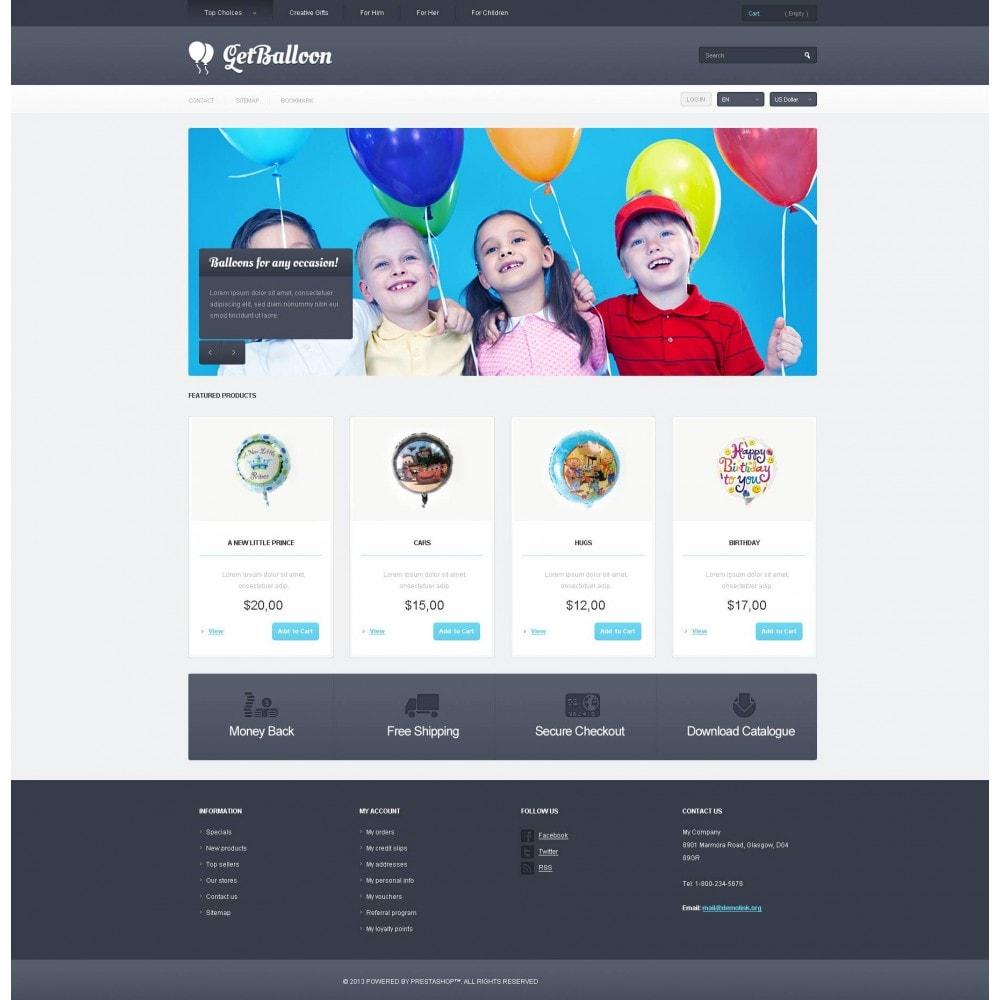 theme - Enfants & Jouets - Responsive Balloons Store - 4