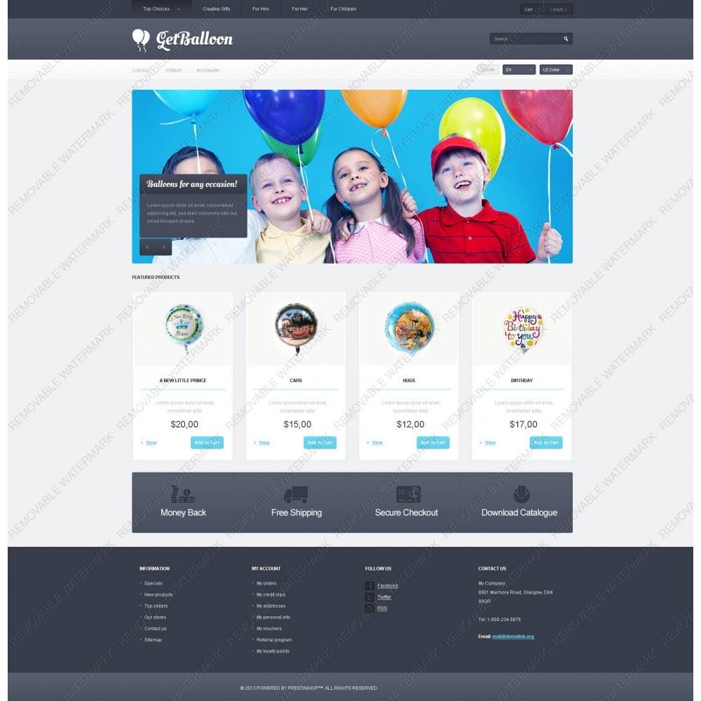 theme - Дети и Игрушки - Responsive Balloons Store - 5