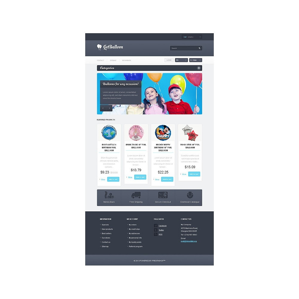 theme - Kinder & Spielzeug - Responsive Balloons Store - 8