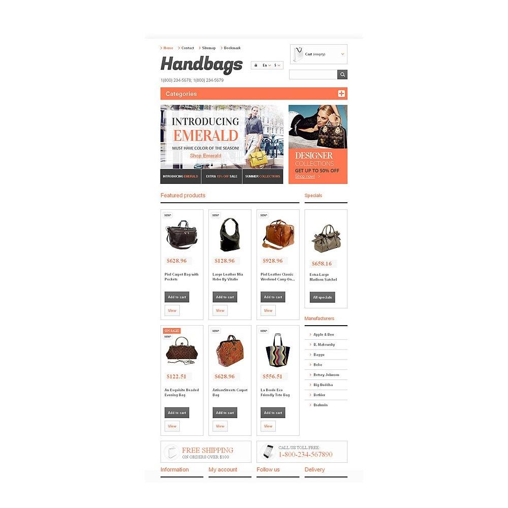 theme - Mode & Chaussures - Responsive Handbags Boutique - 7