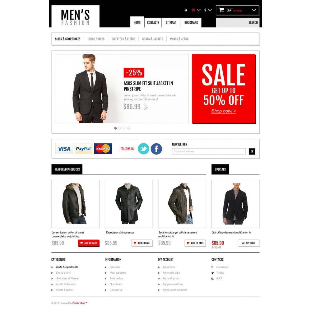 theme - Мода и обувь - Men's Fashion Boutique - 2