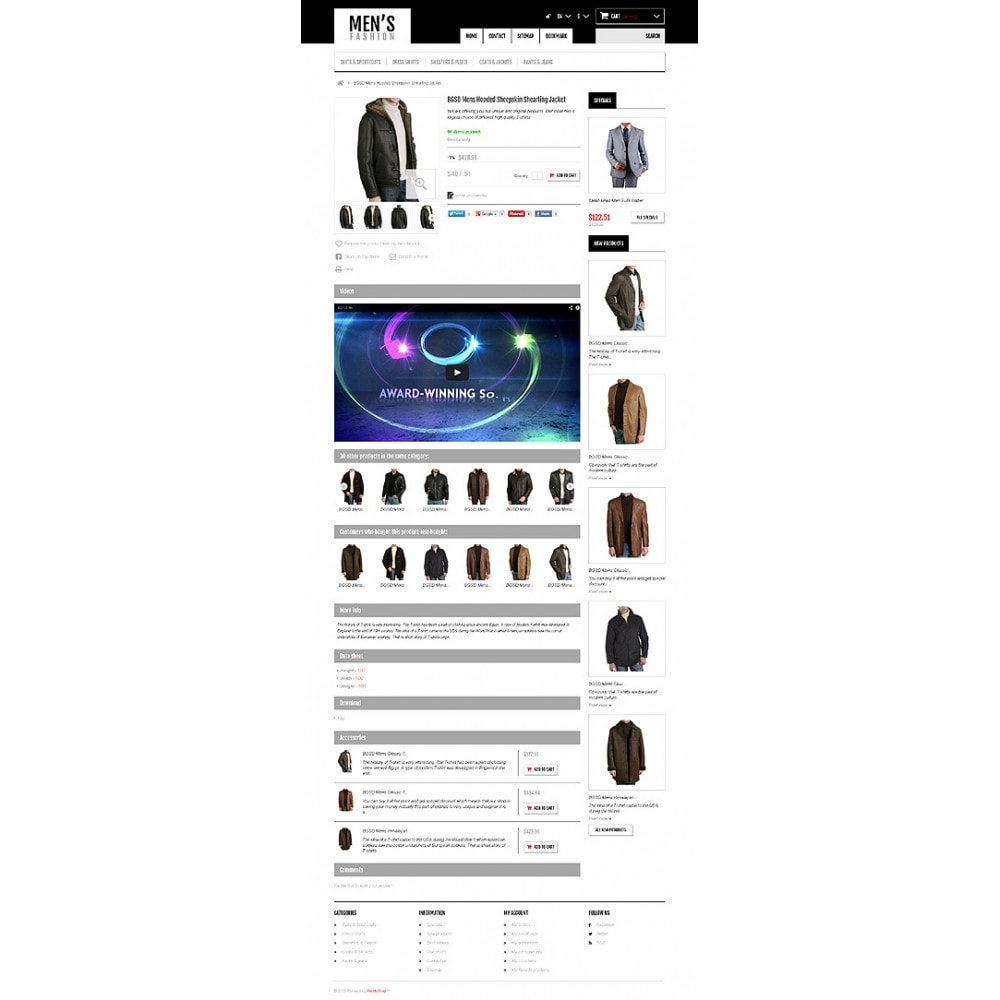 theme - Mode & Chaussures - Men's Fashion Boutique - 6