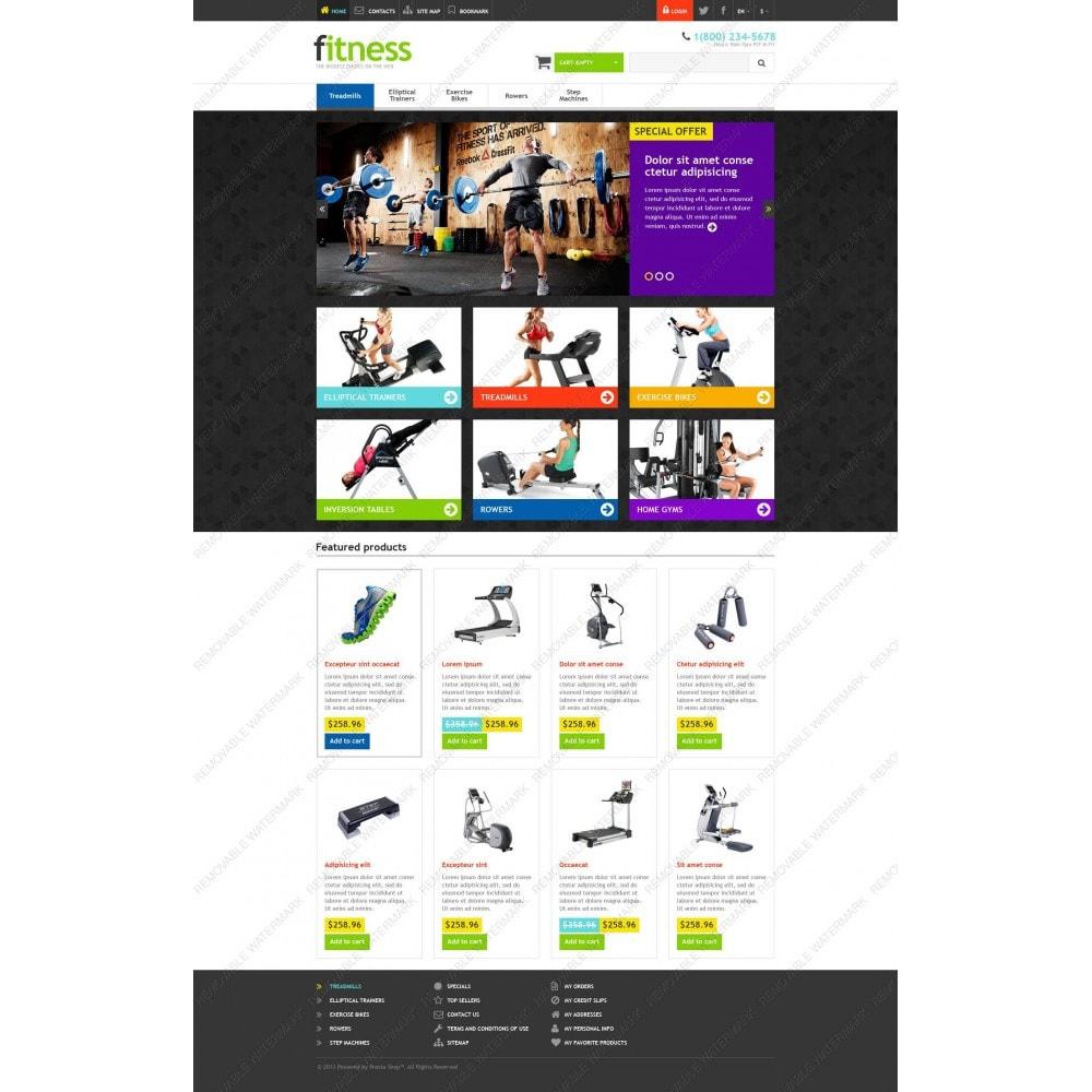 theme - Sport, Rozrywka & Podróże - Responsive Fitness Store - 3