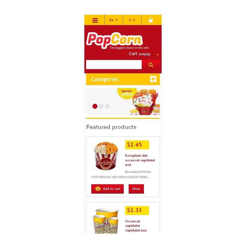 theme - Gastronomía y Restauración - Responsive Pop Corn Store - 6