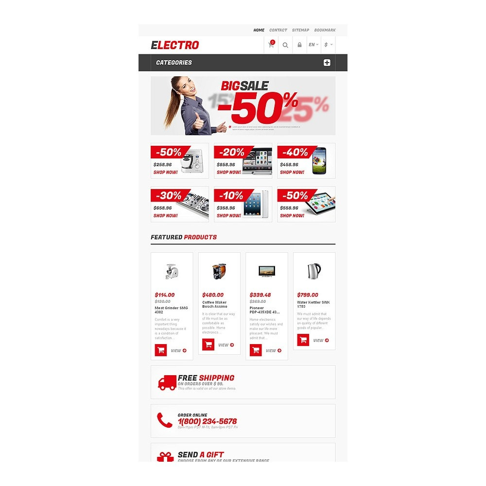 theme - Elektronica & High Tech - Responsive Electro Store - 7