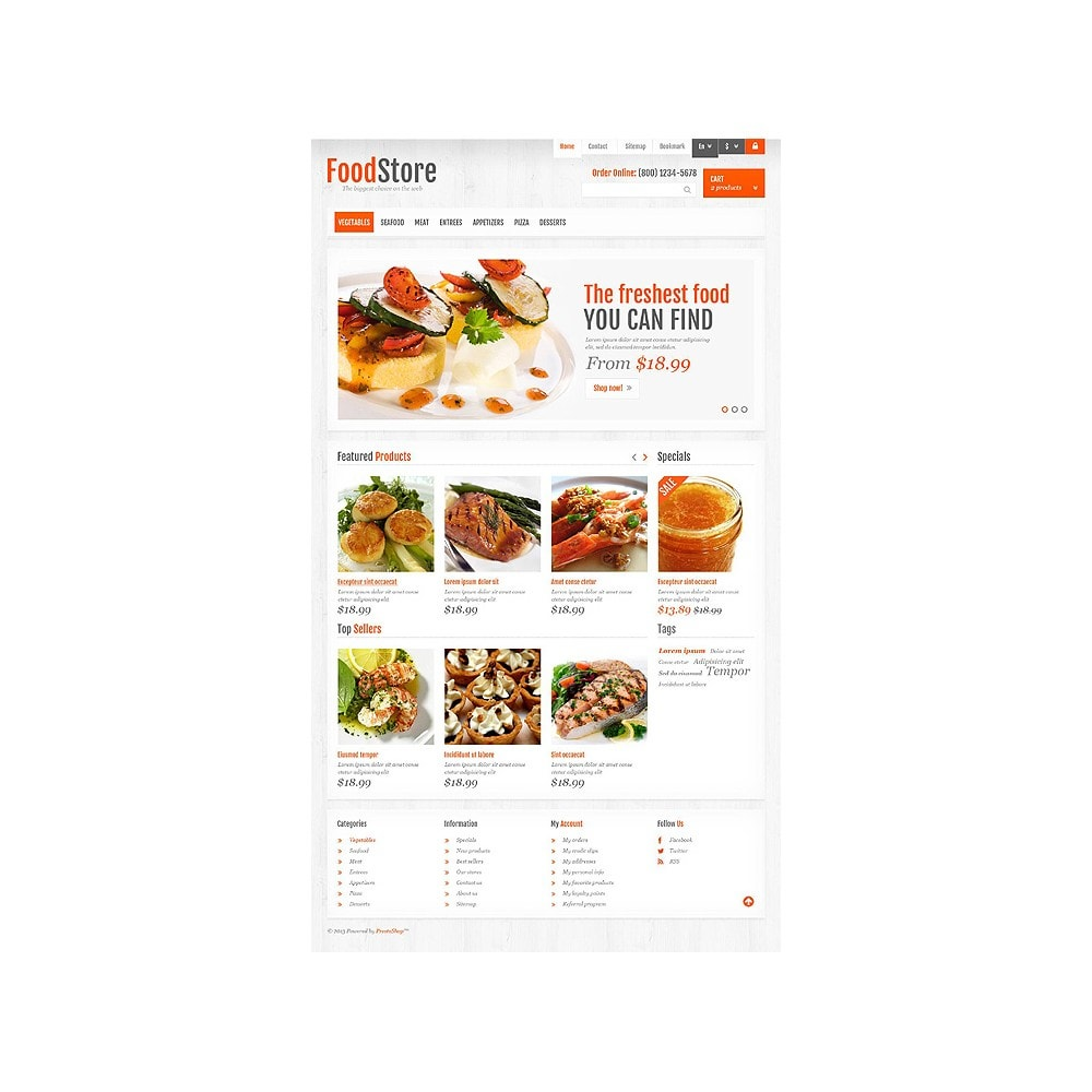 theme - Food & Restaurant - Responsive Food Store - 10