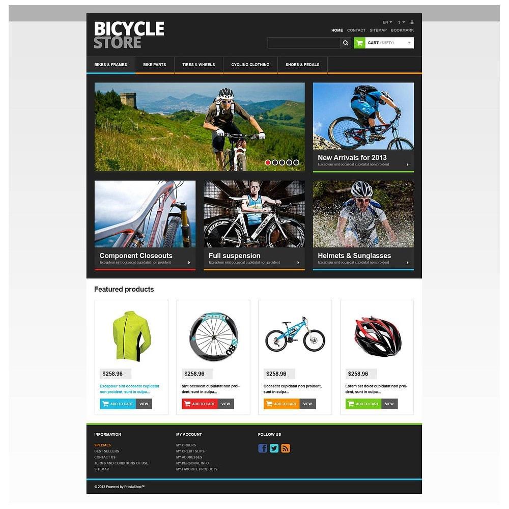 theme - Sport, Attività & Viaggi - Responsive Bicycle Store - 2