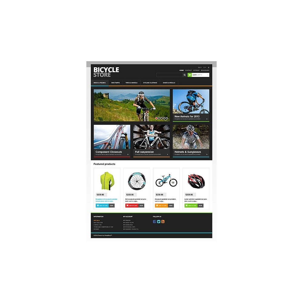 theme - Sports, Activities & Travel - Responsive Bicycle Store - 10