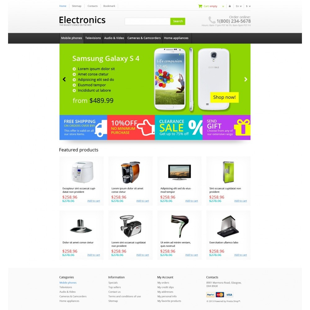 theme - Elektronik & High Tech - Responsive Electronics Store - 5