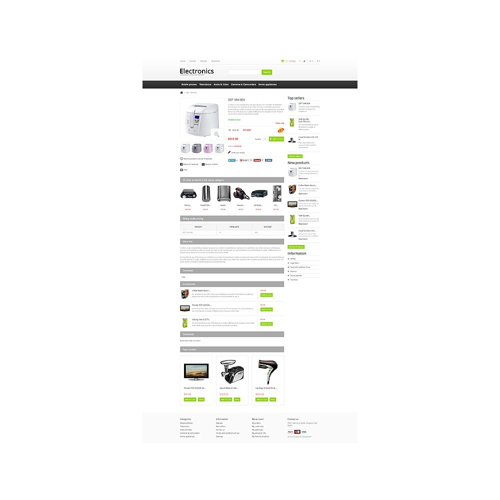 theme - Elektronica & High Tech - Responsive Electronics Store - 7