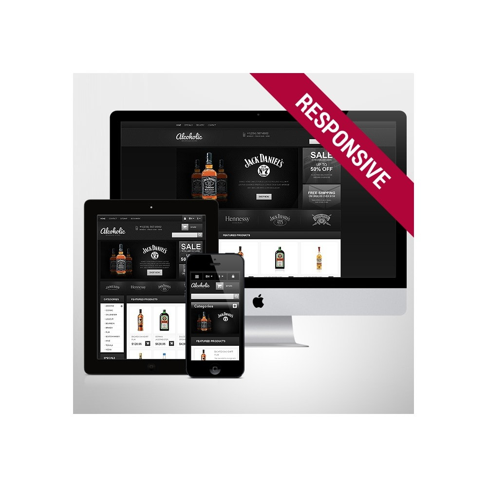 theme - Lebensmittel & Restaurants - Alcoholic Beverages Store - 1