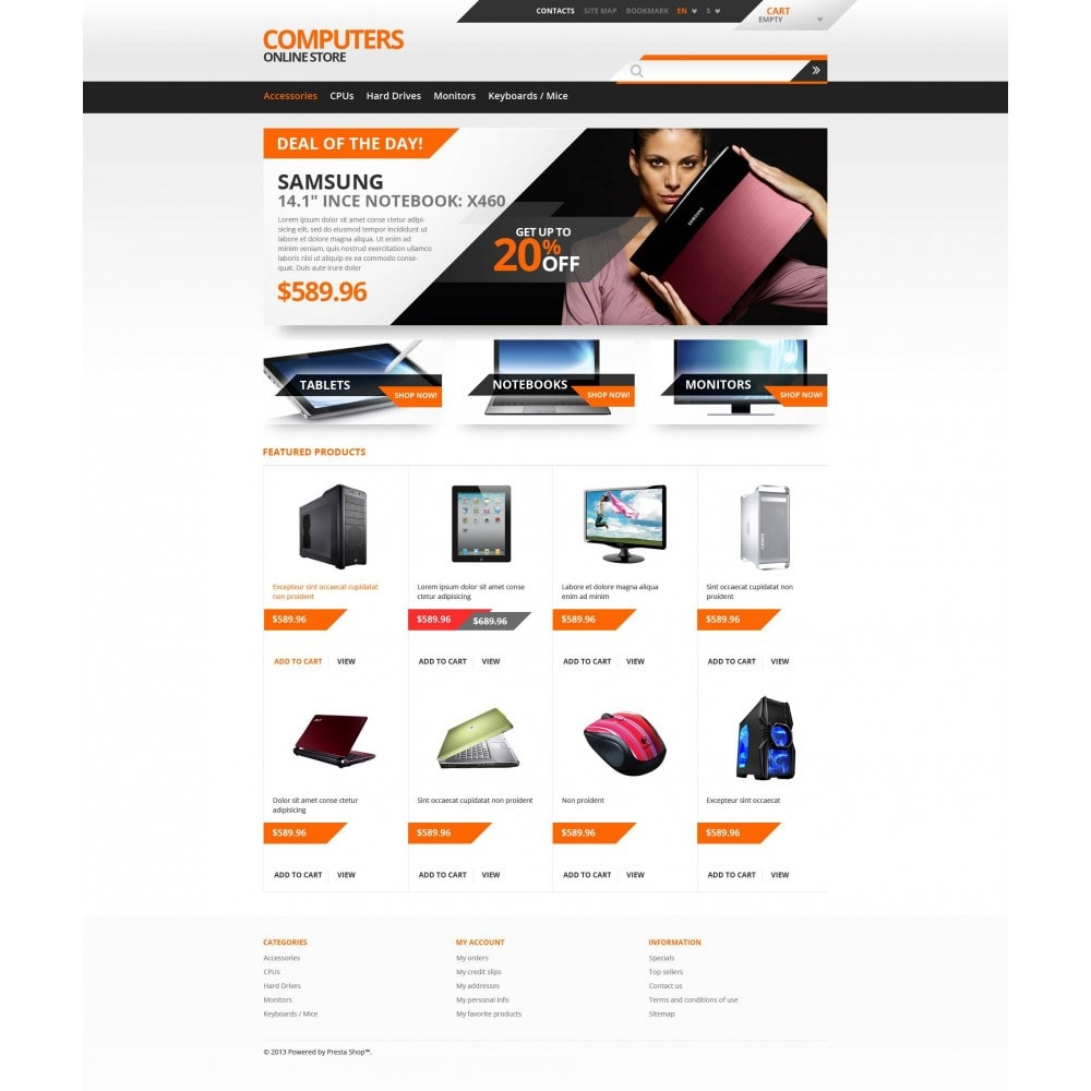 theme - Electrónica e High Tech - Responsive Computers Store - 4