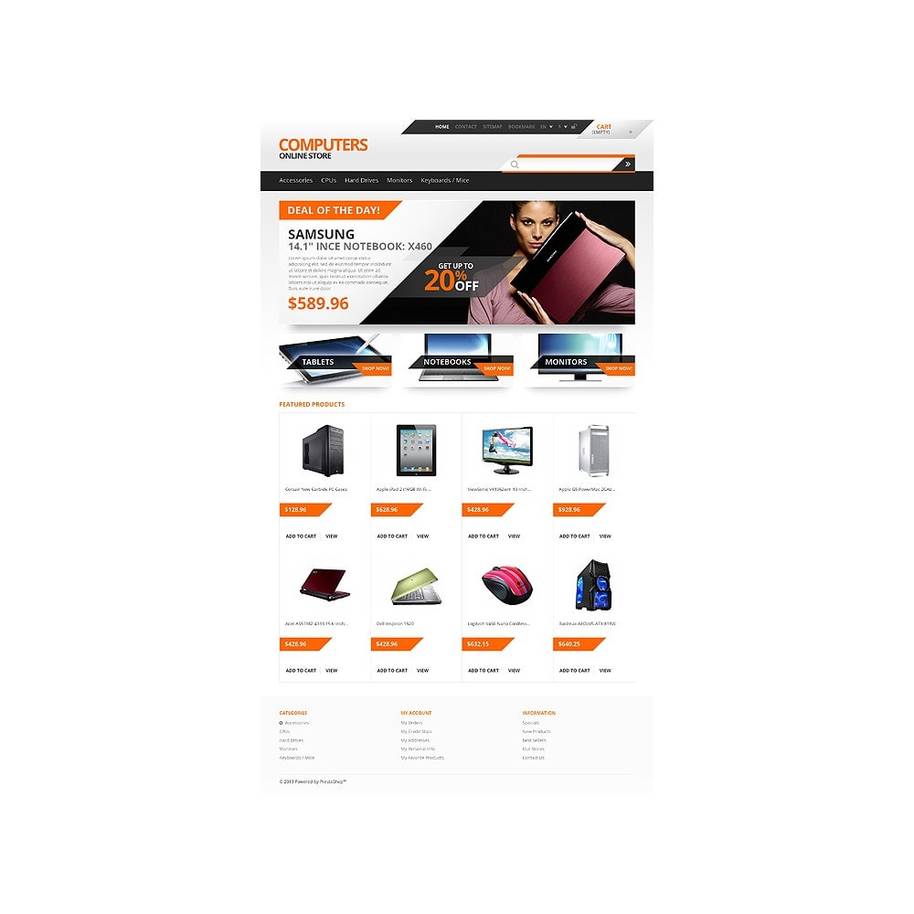 theme - Elektronica & High Tech - Responsive Computers Store - 10