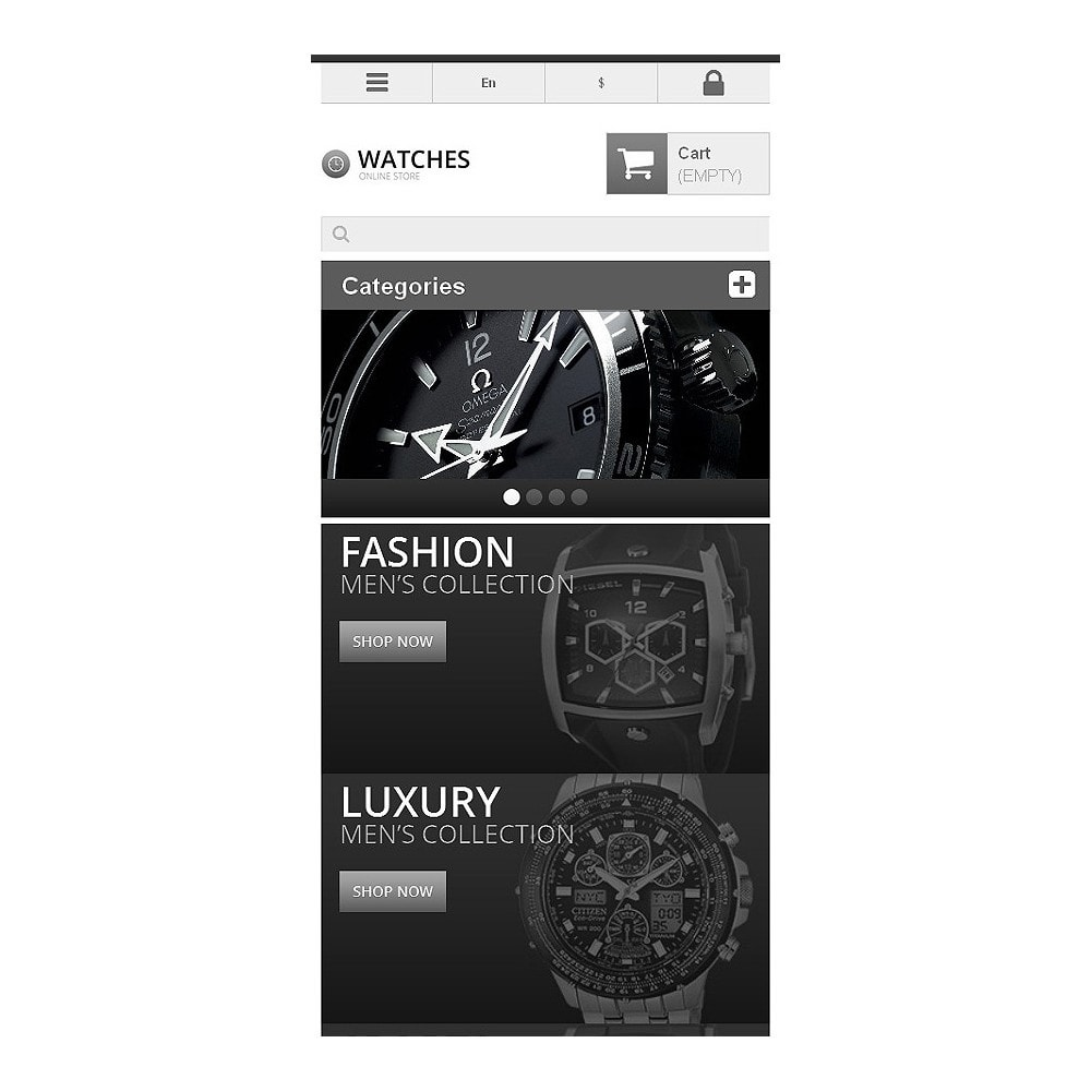 theme - Mode & Schoenen - Responsive Watch Store - 9