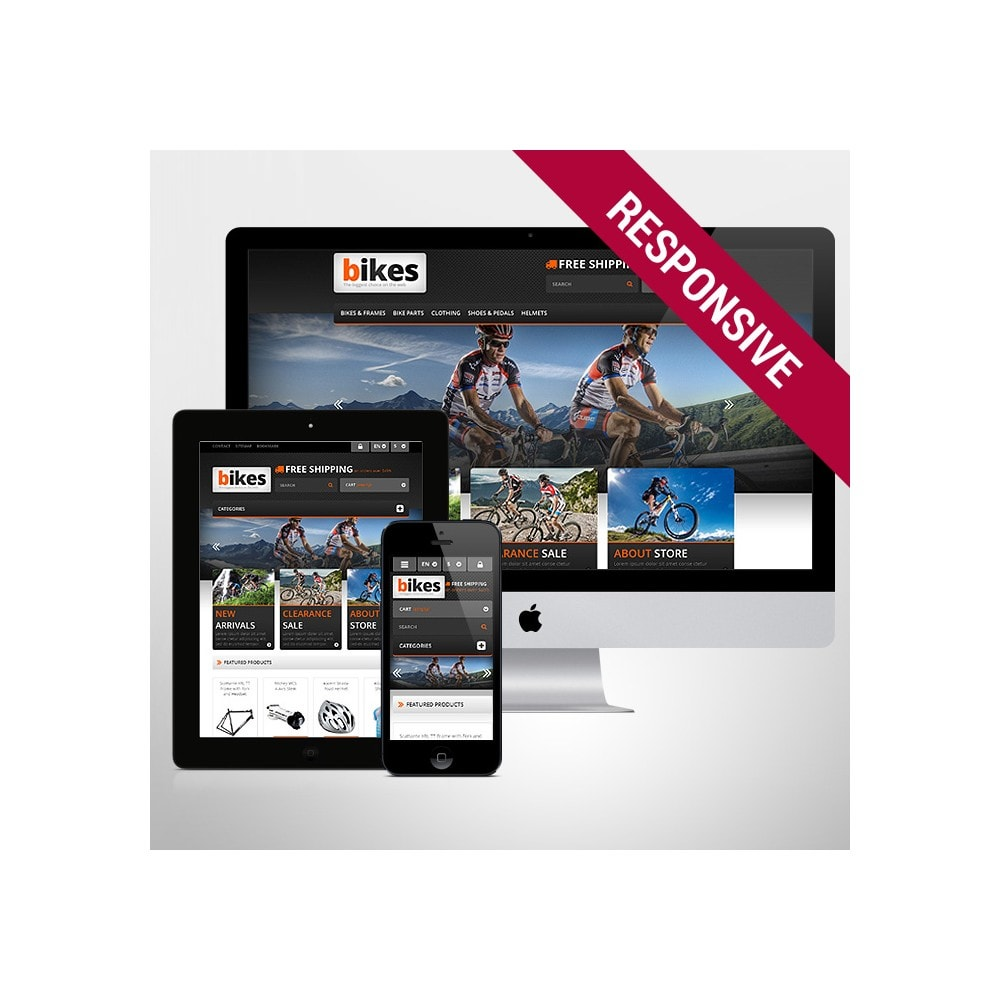 theme - Sport, Loisirs & Voyage - Responsive Bikes Store - 1