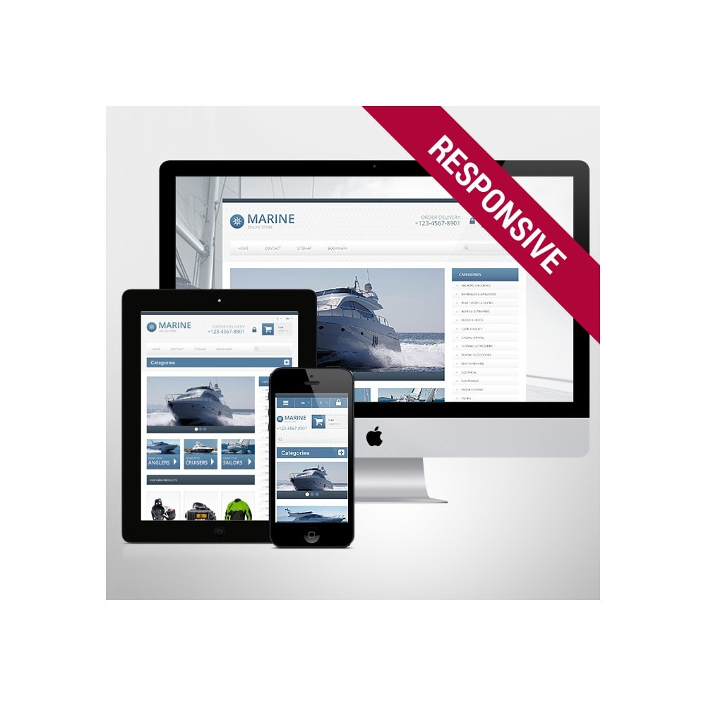 theme - Sports, Activities & Travel - Responsive Marine Store - 1