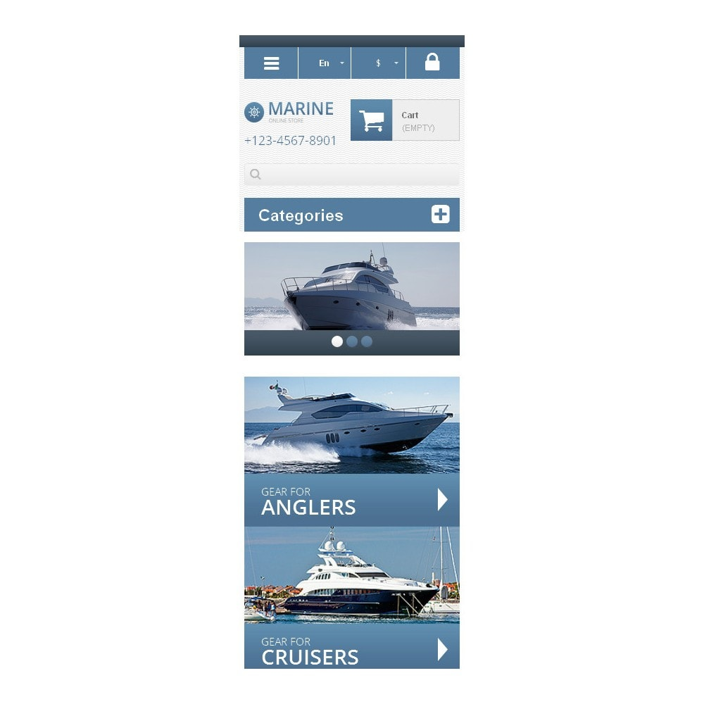 theme - Sports, Activities & Travel - Responsive Marine Store - 6
