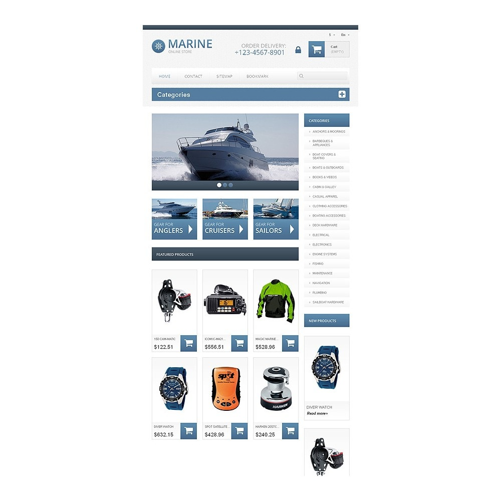 theme - Sports, Activities & Travel - Responsive Marine Store - 8