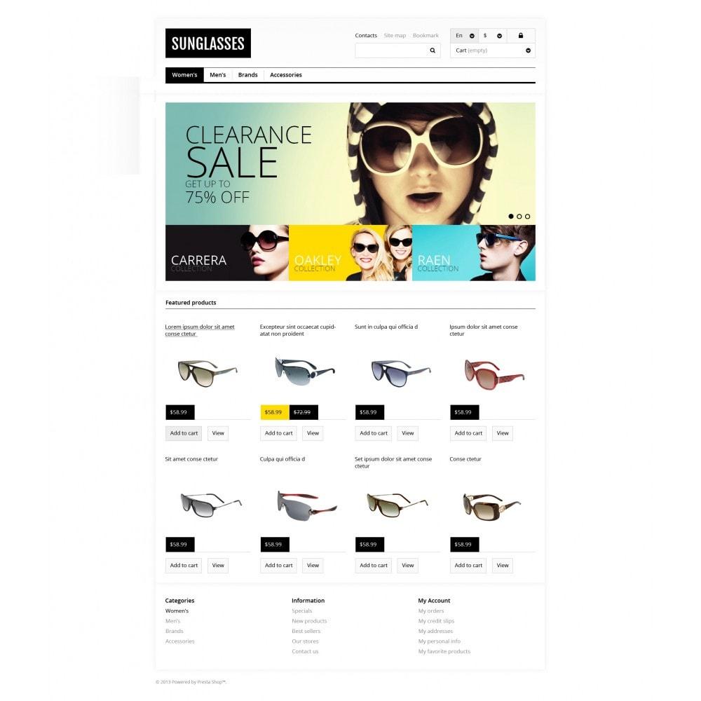 theme - Moda & Calzature - Responsive Sunglasses Store - 4