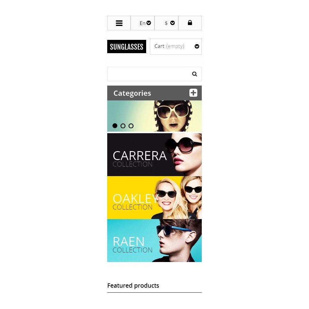 theme - Moda & Calzature - Responsive Sunglasses Store - 9