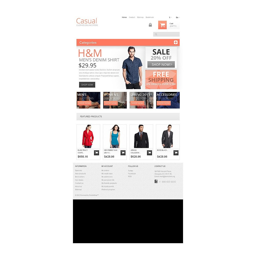 theme - Mode & Schuhe - Casual Clothes Store - 8