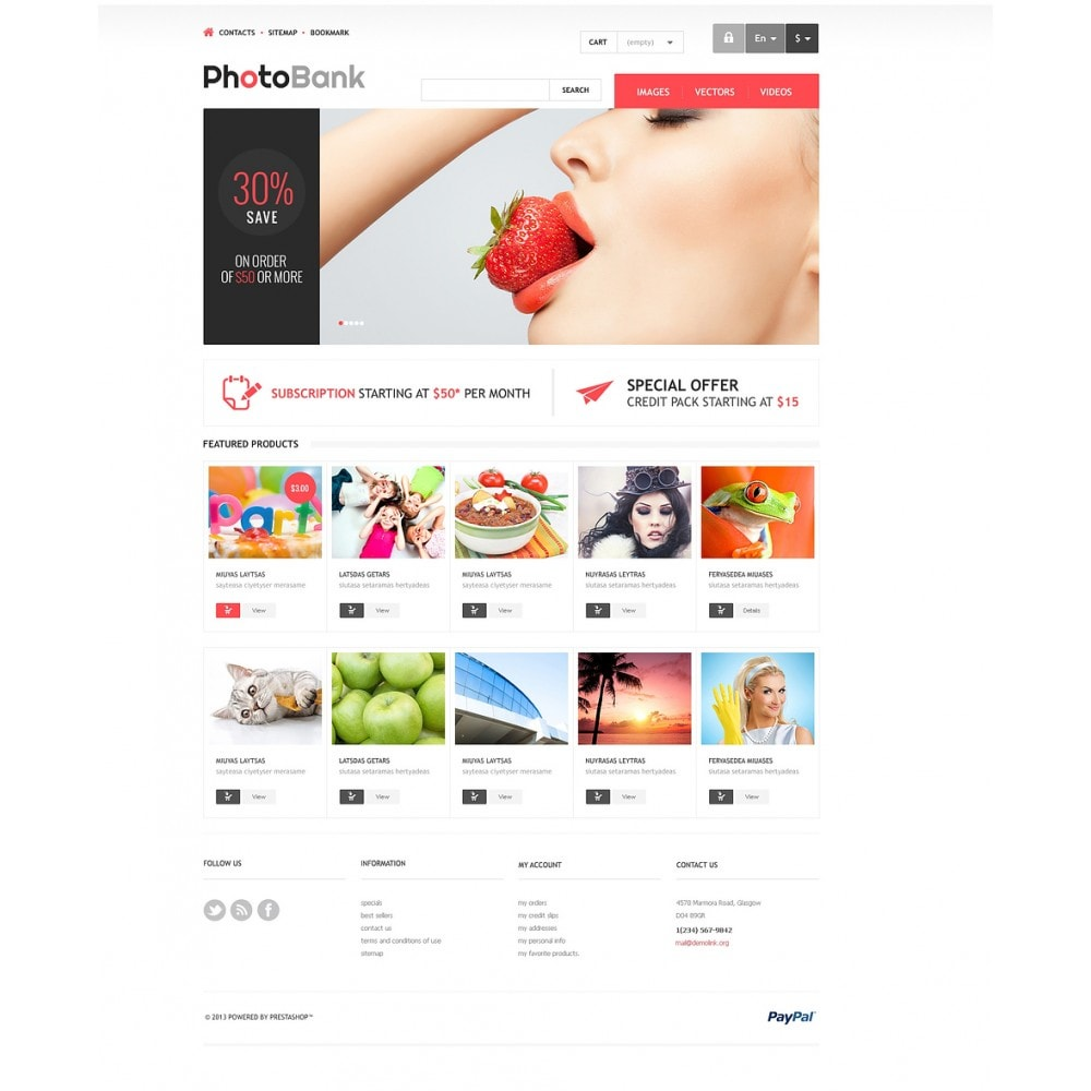 theme - Arte y Cultura - Responsive Photo Bank - 2